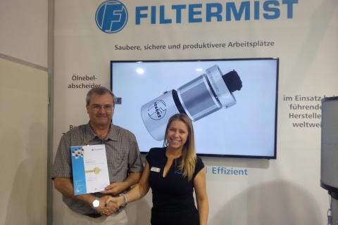 Zlatý partner společnosti Filtermist