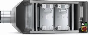 Principy filtrace - filtr elektrostatický, Bristol