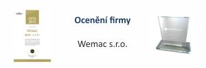 Ocenění firmy Wemac