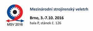 MSV v Brně, 3.-7.10.2016
